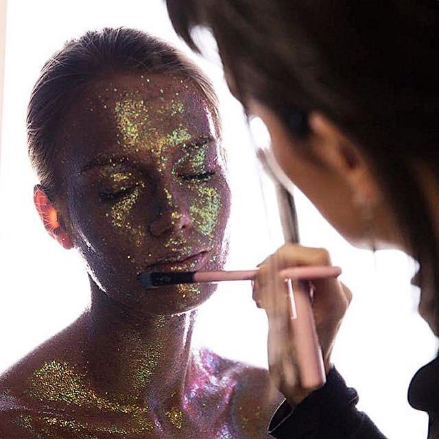 Glitter Beauty Shoot with Roseanna Velin
