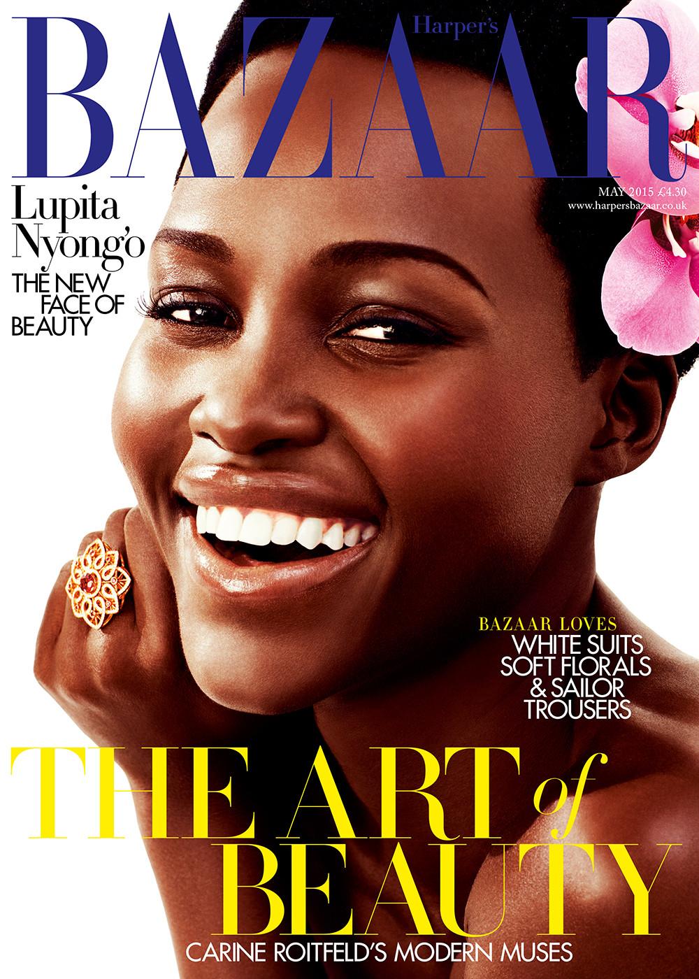 Lupita Nyong'o for Harper's Bazaar
