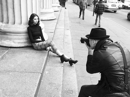 Fashion Editorial Photo shoot in London