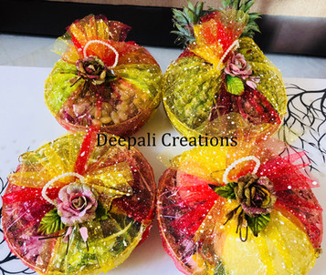 Fruits Packing for Weddings By Deepali Creations