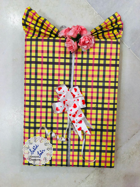Shirt Style Gift Packing