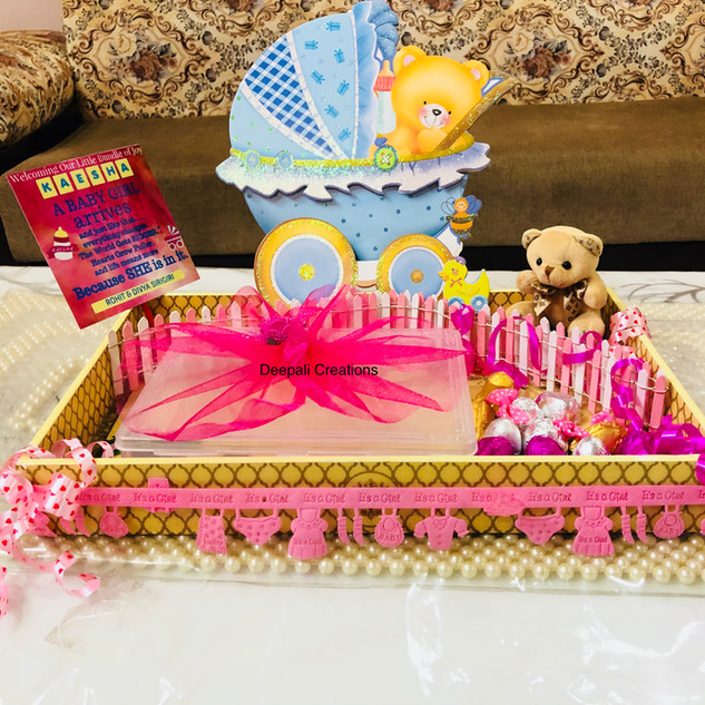 Babyshower Packing By Deepali Creations.