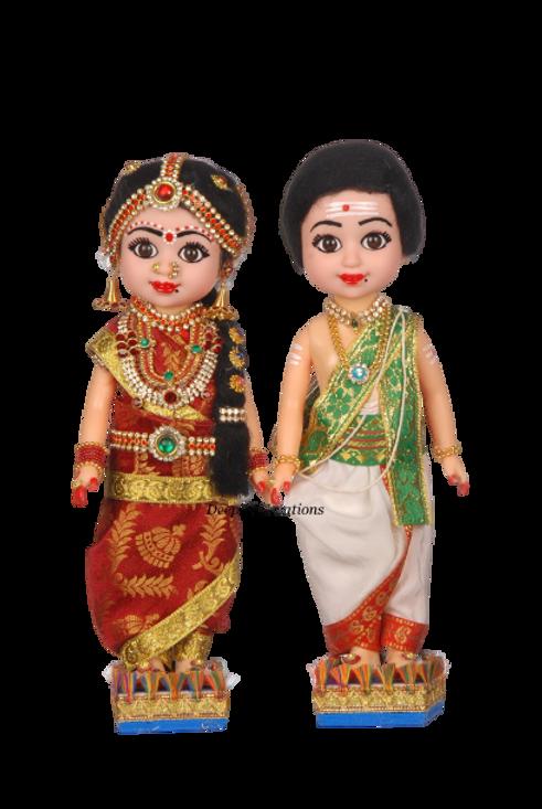 Wedding Couple Doll_DeepaliCreations