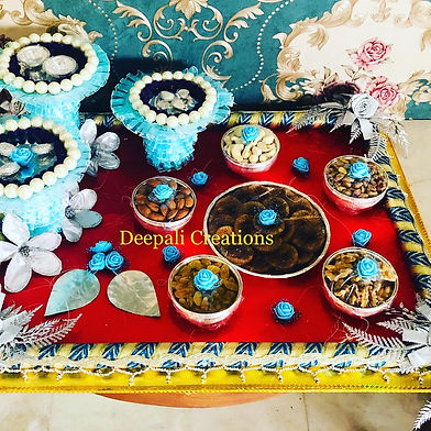 Dry Fruits Tray By Deepali Creations