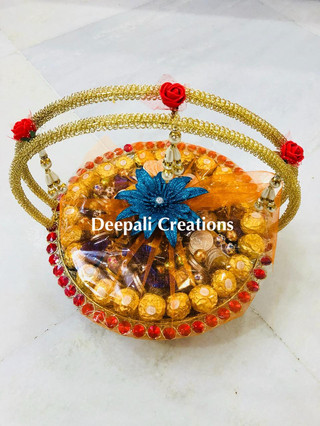 Chocolate Basket By Deepali Creations