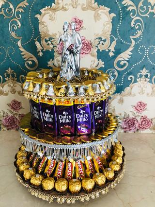 Chocolate Tower By Deepali Creations