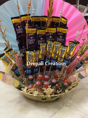 Chocolate Bouquet By Deepali Creations