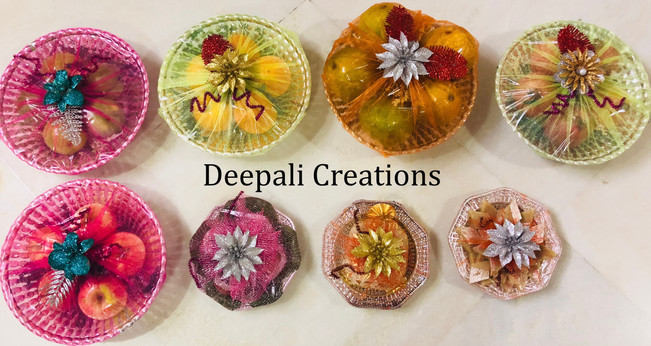 Fruits & Sweets Packing By Deepali Creations