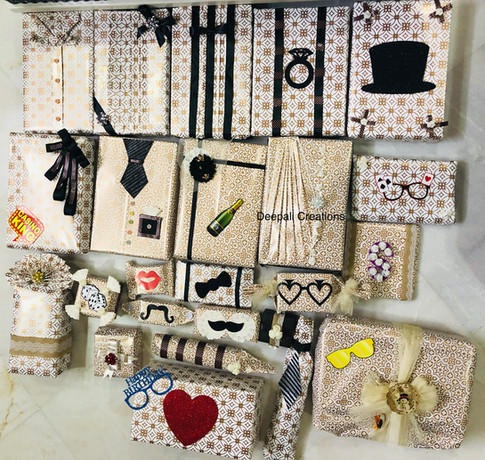 Birthday Gift Packing for Men By Deepali Creations