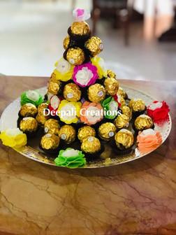 Chocolate Tray By Deepali Creations