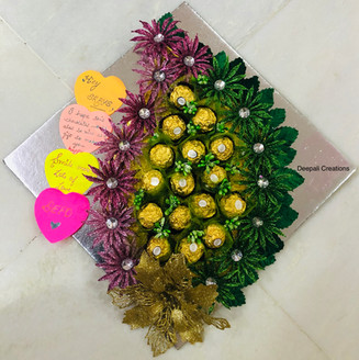 Chocolate Packing By Deepali Creations