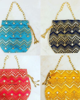 Handmade Bags & Potli