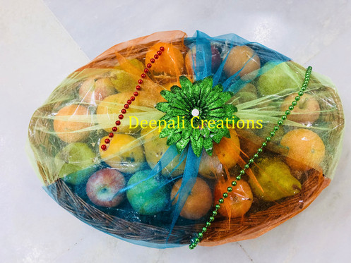Fruits Packing By Deepali Creations