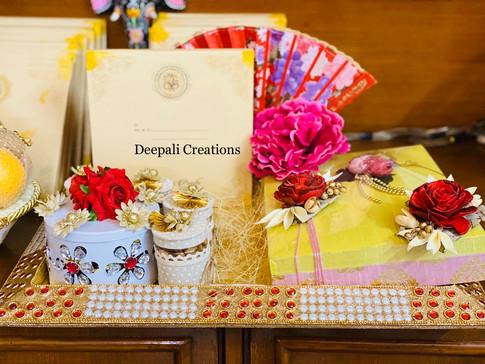 Invitation Card Beatifully Presented By Deepali Creations