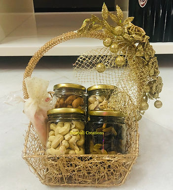 Dry Fruits Basket By Deepali Creations
