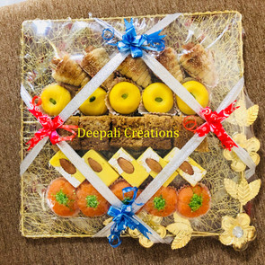 Sweets Packing By Deepali Creations.
