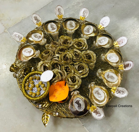 Silver Coins Packed & Presented By Deepali Creations