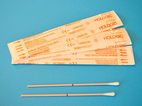Swabs for oral, rectal, nasal or vaginal sample collection. Used for STD's testing but als