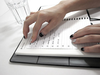self-adhesive notepad
