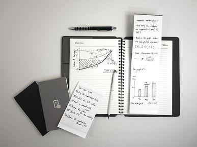 self-adhesive notepad