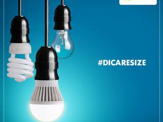 Lampadas LED #DICARESIZE