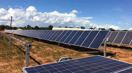 Usina solar Pirapo MG