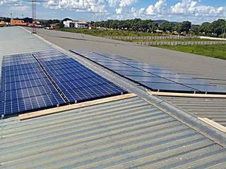 Prefeitura instala sistema fotovoltaico