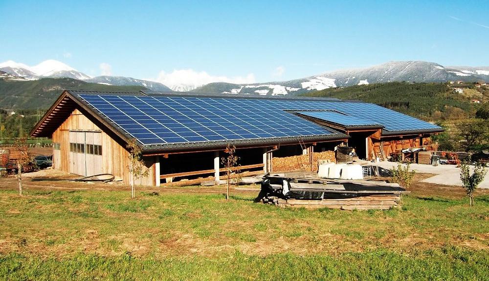 Geração de energia rural