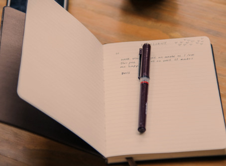Starting with a journal
