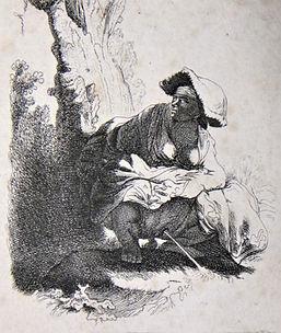 Illustration : Rembrandt, La Femme qui pisse
