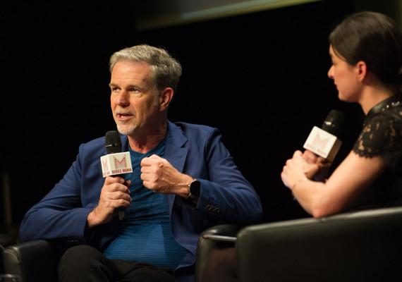 Reed Hastings at Series Mania