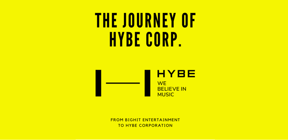 HYBE's Beginning and The Journey Thus Far