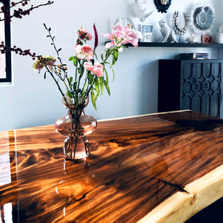 Suar tafelblad met epoxy coating