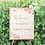 Thumbnail: WELCOME SIGN - PEONIES