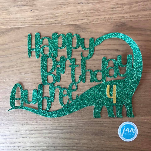 DINOSAUR BIRTHDAY