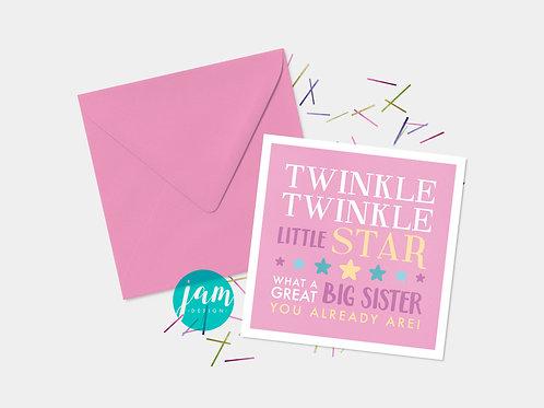 TWINKLE TWINKLE BIG SISTER