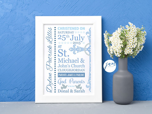 NAMING DAY / CHRISTENING PRINTS