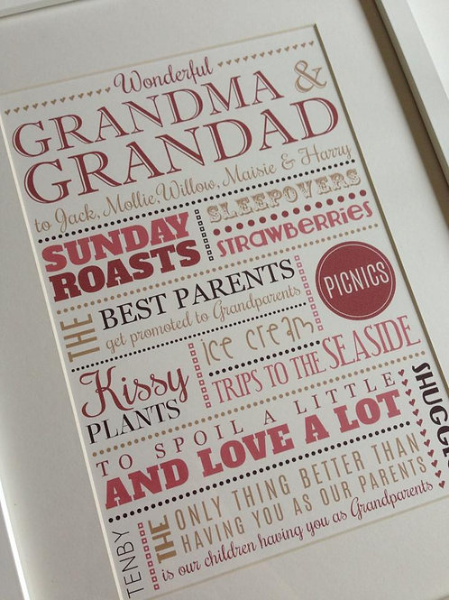 PRINTS FOR GRANDPARENTS