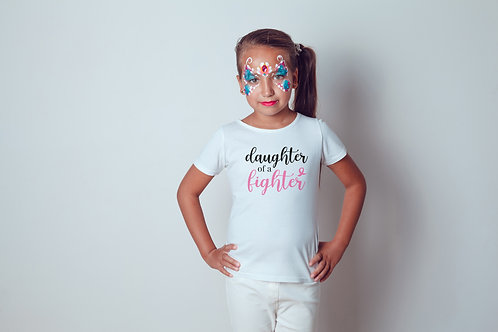 DAUGHTER OF A FIGHTER T-SHIRT