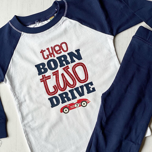 BORN TWO DRIVE PYJAMAS