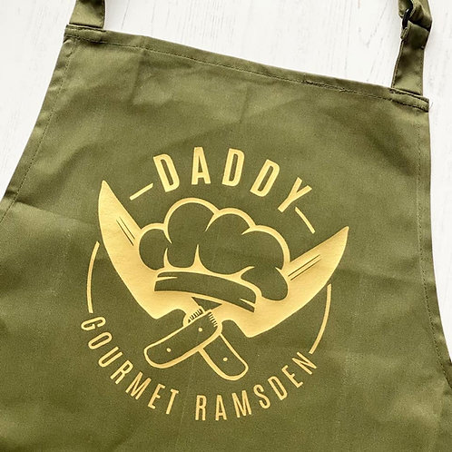 PERSONALISED CHEF APRON
