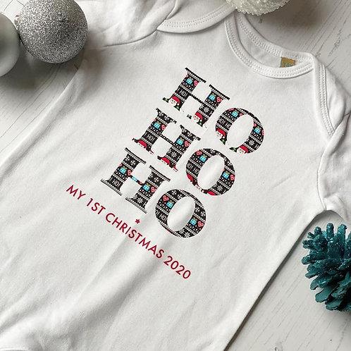 HO HO HO MY 1ST CHRISTMAS