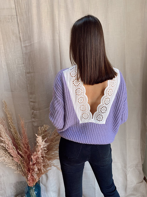 CUTE BACK PULL - LILA