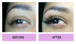 Lashes london mink extensions W5