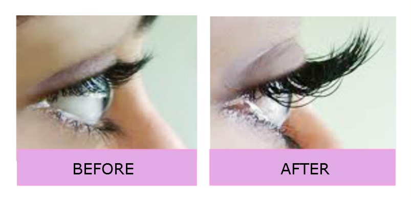 London lashes individual silk extension