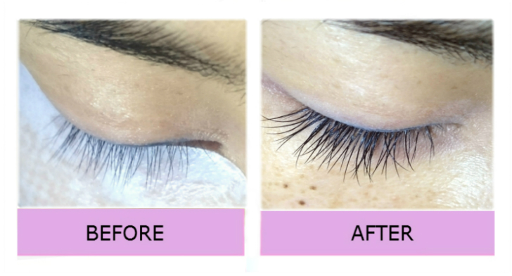 Lashes London mobile extensions W8