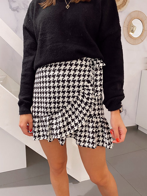 LOOKING FOR YOU SKIRT - BLACK/WHITE