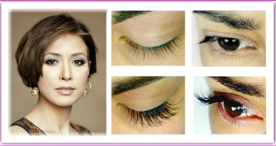 Eyelash Extensions LASHES LONDON mobile beauty