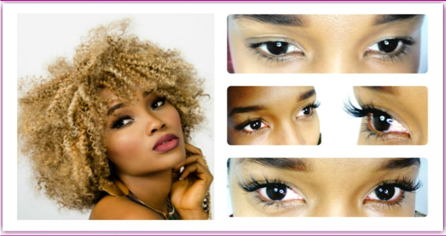 Mink LASHES LONDON individual extensions
