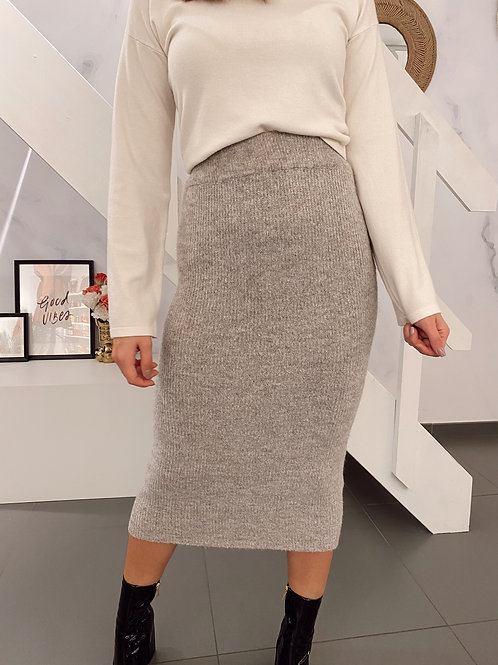 WE CAN ESCAPE SKIRT - GREY